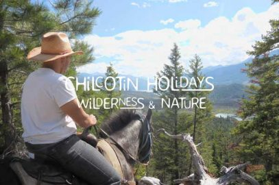 Riding in the Chilcotin Mountains